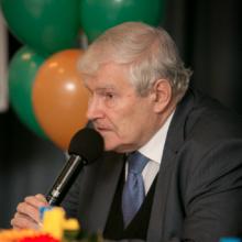 Профессор Астахов Ю.С., телемост WGW-2014, г. Санкт-Петербург, Россия.