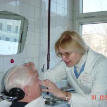 Офтальмохирург Филатова И.А., МНИИ ГБ им. Гельмгольца, г. Москва, Россия.