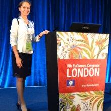 Врач-офтальмолог Васильева Ольга Александровна (Москва, Россия), Лондон, 5th EuCornea Congress, 2014.