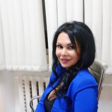Езжева Ирина Валерьевна, врач-офтальмолог, МНИИ ГБ им. Гельмгольц, Россия.