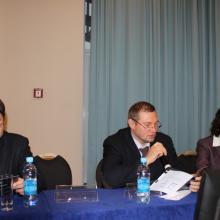 Эскина Э.Н. в президиуме конференции «Рефракция». Самара, 28-30 ноября 2014.