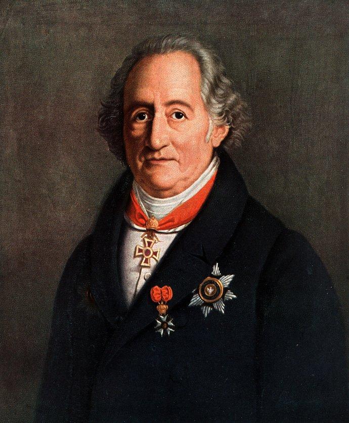 Иога́нн Во́льфганг фон Гёте (Johann Wolfgang von Goethe, 1749-1832)